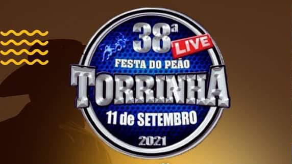 Acontece Hoje a Live da 38ª Festa do Peão de Torrinha