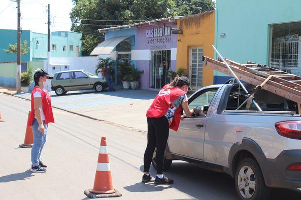 Departamento de Saúde realiza barreiras sanitárias nas entradas de Torrinha