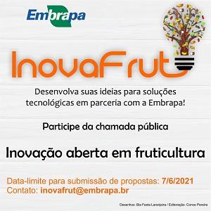 Embrapa lança programa de inovação aberta em fruticultura tropical